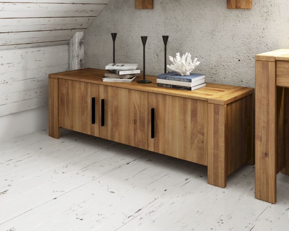 Sideboard Massivholz The Beds Cubic Massivholz Sideboard 3 Türig
