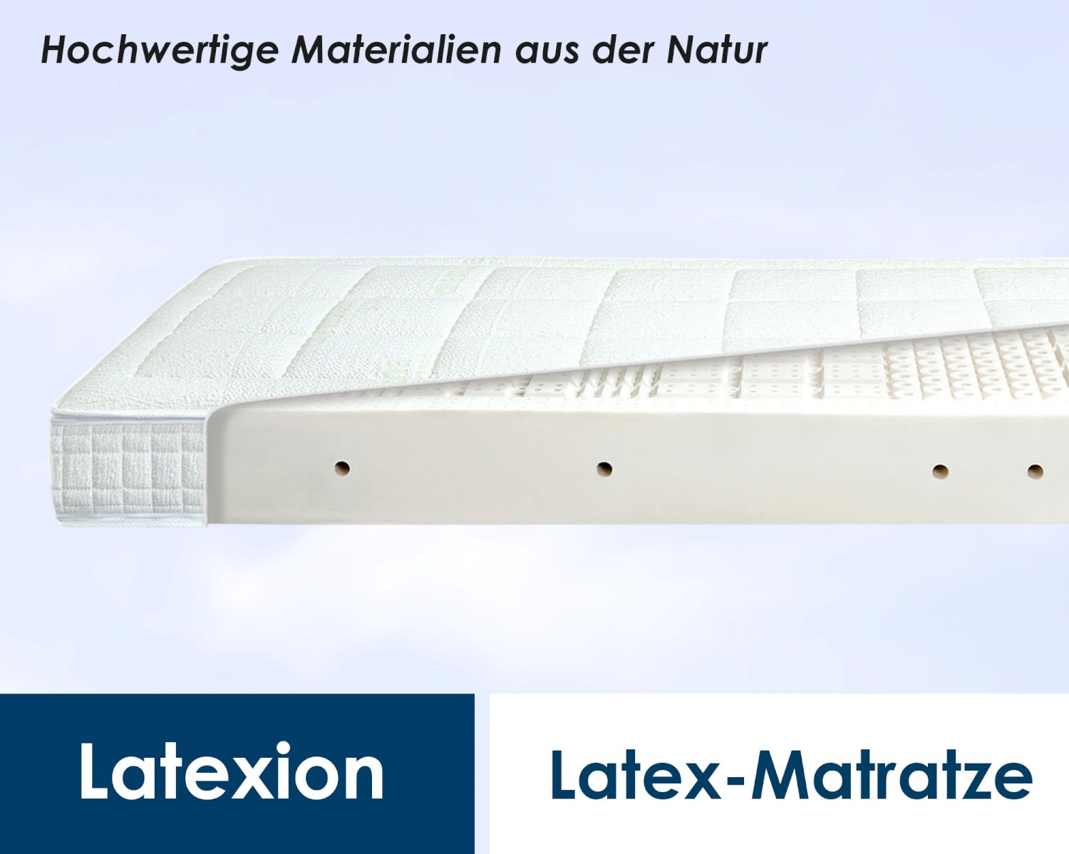 Latex Matratze 140x200 Diamona Select Latexion Latex Matratzen
