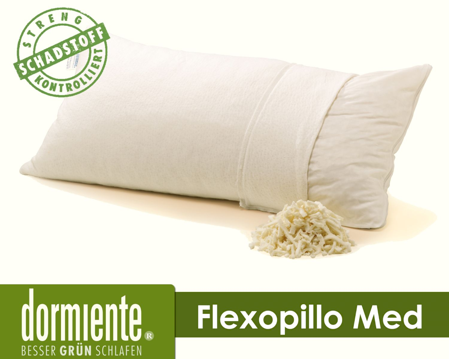 Latex Kissen Dormiente Flexopillo Med Latex Kissen
