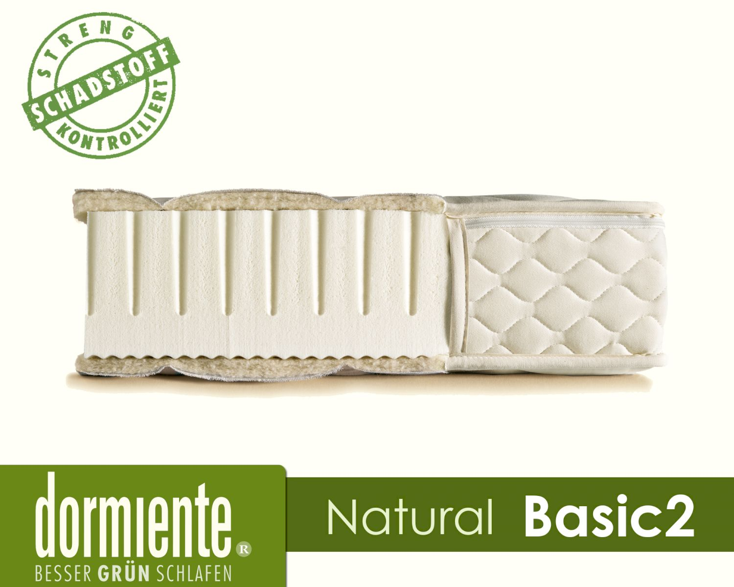 Latex Matratze Dormiente Natural Basic 2 Latex Matratzen