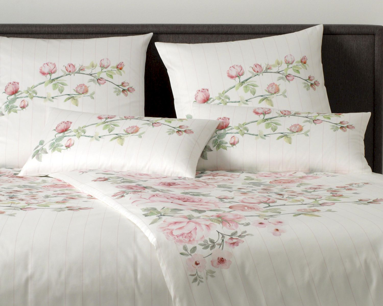 Elegance Bettwäsche Elegante Comfort Satin Bettwäsche Princess Rose 2186 1