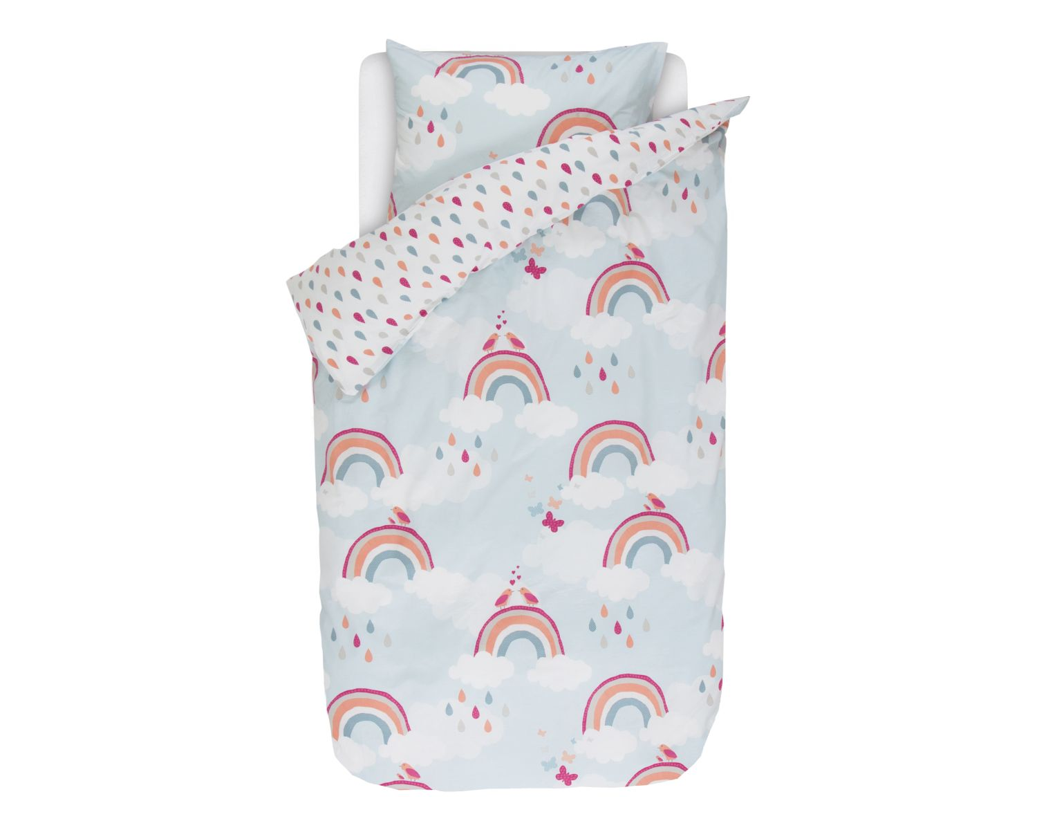 Bettwäsche Esprit Esprit Renforce Kinder Bettwäsche Rainbows Multi Slewo