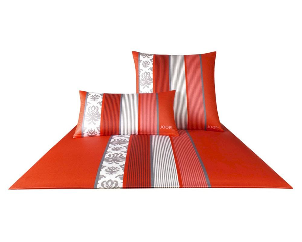 Bettwäsche Joop Sale Joop Ornament Stripes Bettwäsche Mohn 4022 01 Slewo