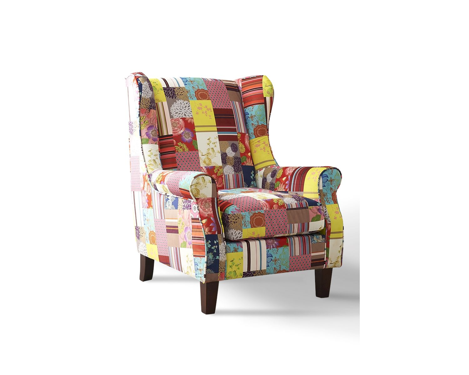Sessel Patchwork Sit Ohrensessel Patchwork