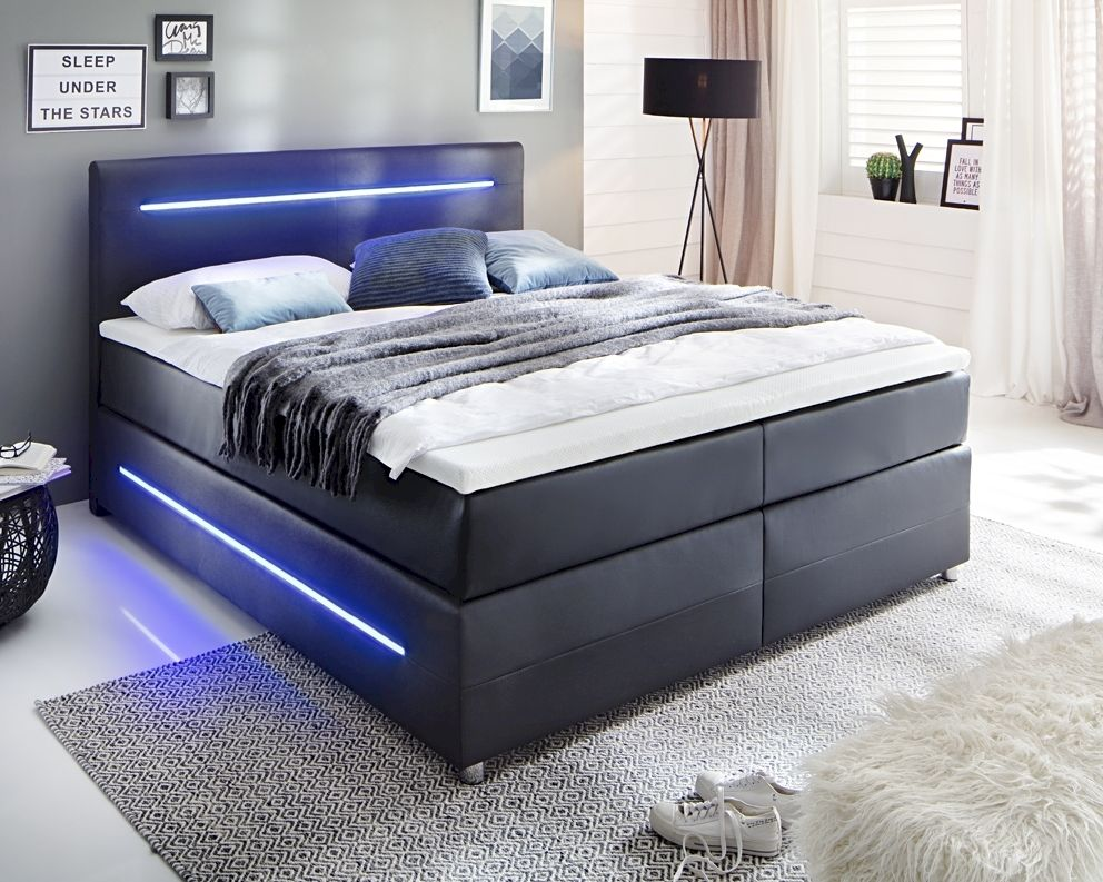 Www Boxspringbetten Meise Möbel Led Boxspringbett Lights