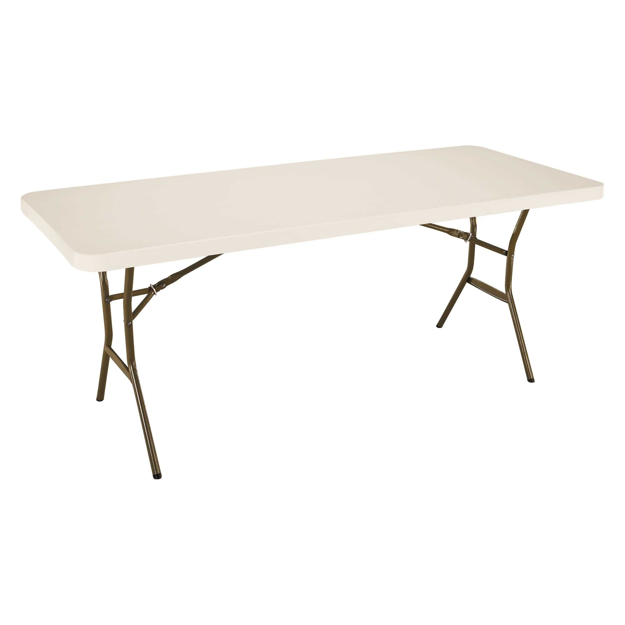 Table Rectangulaire 8 Personnes Table Pliante Rectangulaire 183cm Beige 6 8 Personnes Slf Location