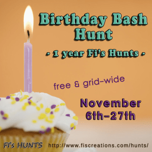 Fi's Hunts - Birthday Bash Hunt - Poster Image