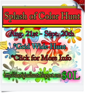 splash of color hunt
