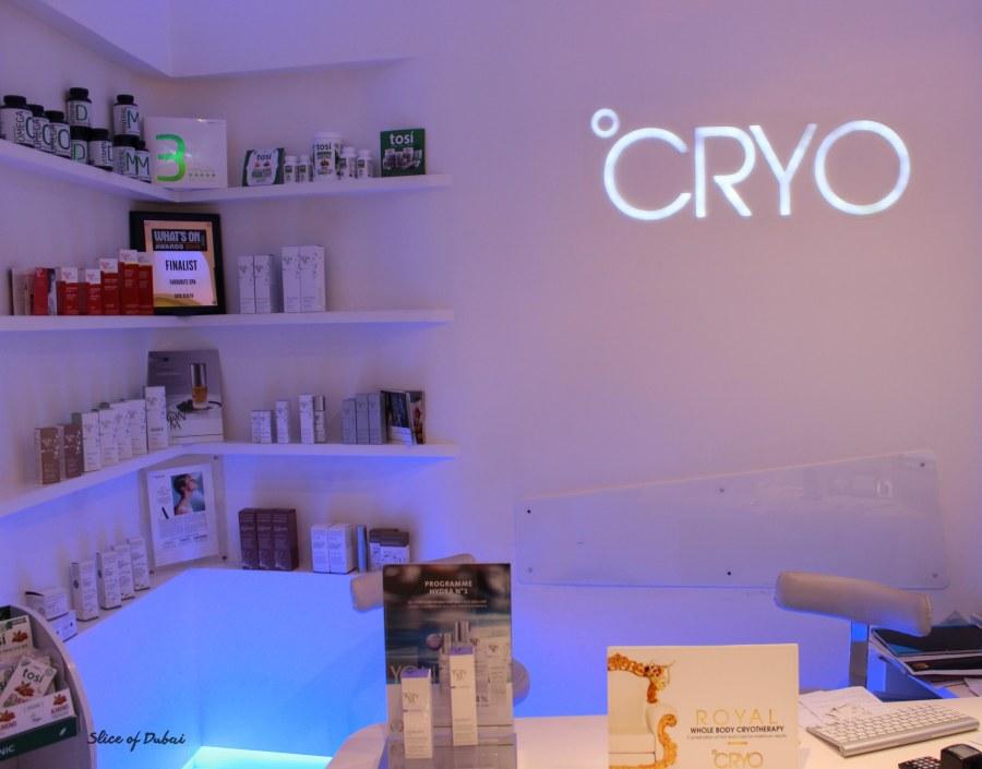 Full Body CRYO at CRYO Health