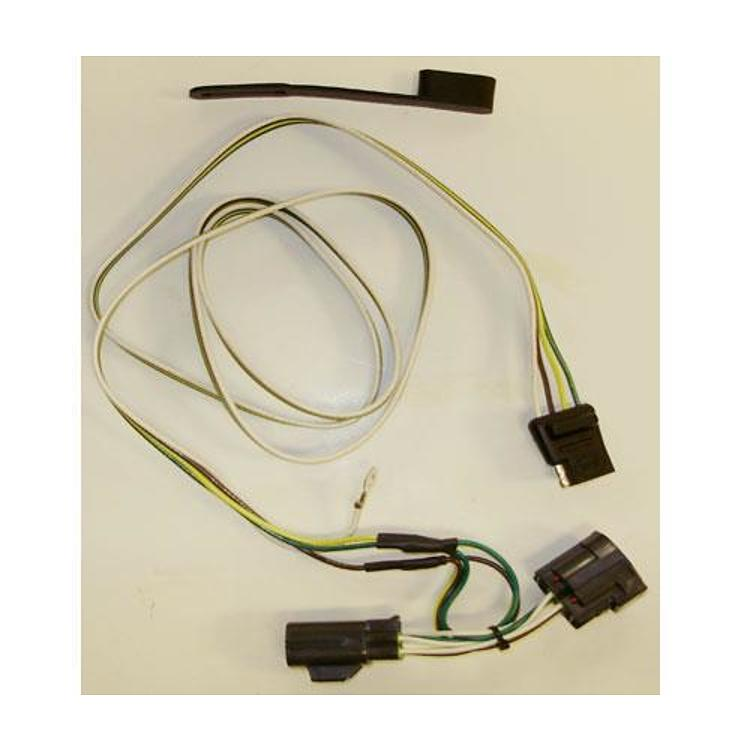 CURT Manufacturing Trailer Wiring Harness - 55124 - Slickrock 4X4