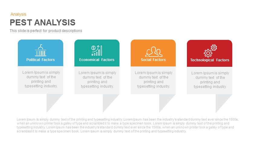 PEST Analysis PowerPoint Template and Keynote Slide