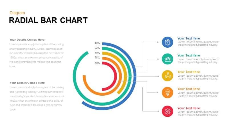 Radial Bar Chart Powerpoint Templates - SlideBazaar