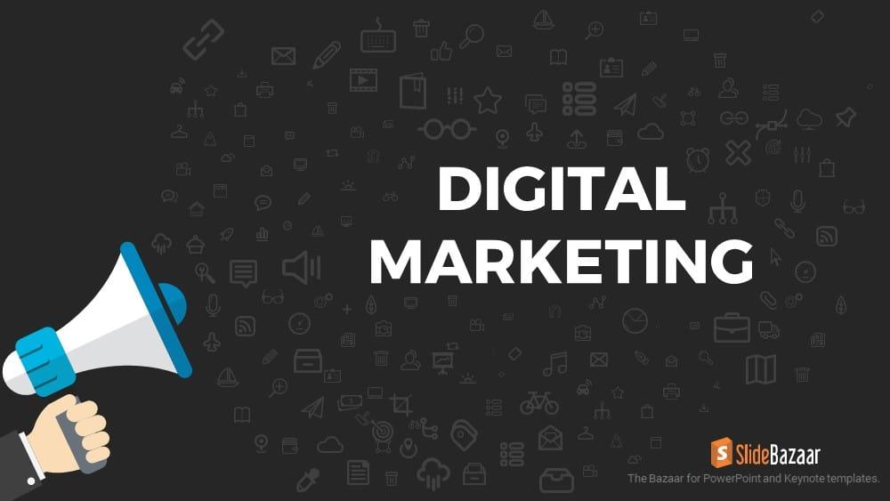 Digital Marketing PowerPoint Template and Keynote - SlideBazaar