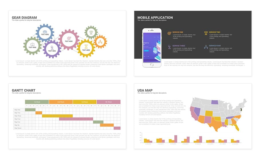 Free Touch PowerPoint Presentation Template - Slidecompass