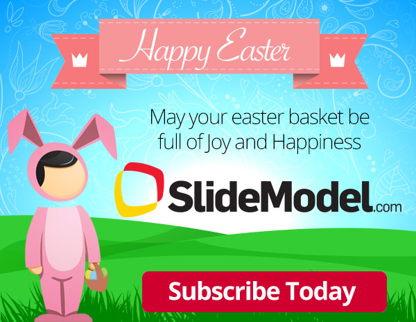 Happy Easter ! Join Today http\/\/slidemodel and download - easter powerpoint template