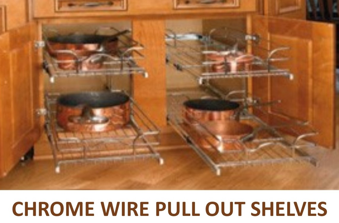 Kitchen Cabinets With Pull Out Shelves Best Slide Out Shelves Pull Out Shelves Custom Made To Fit Rollouts