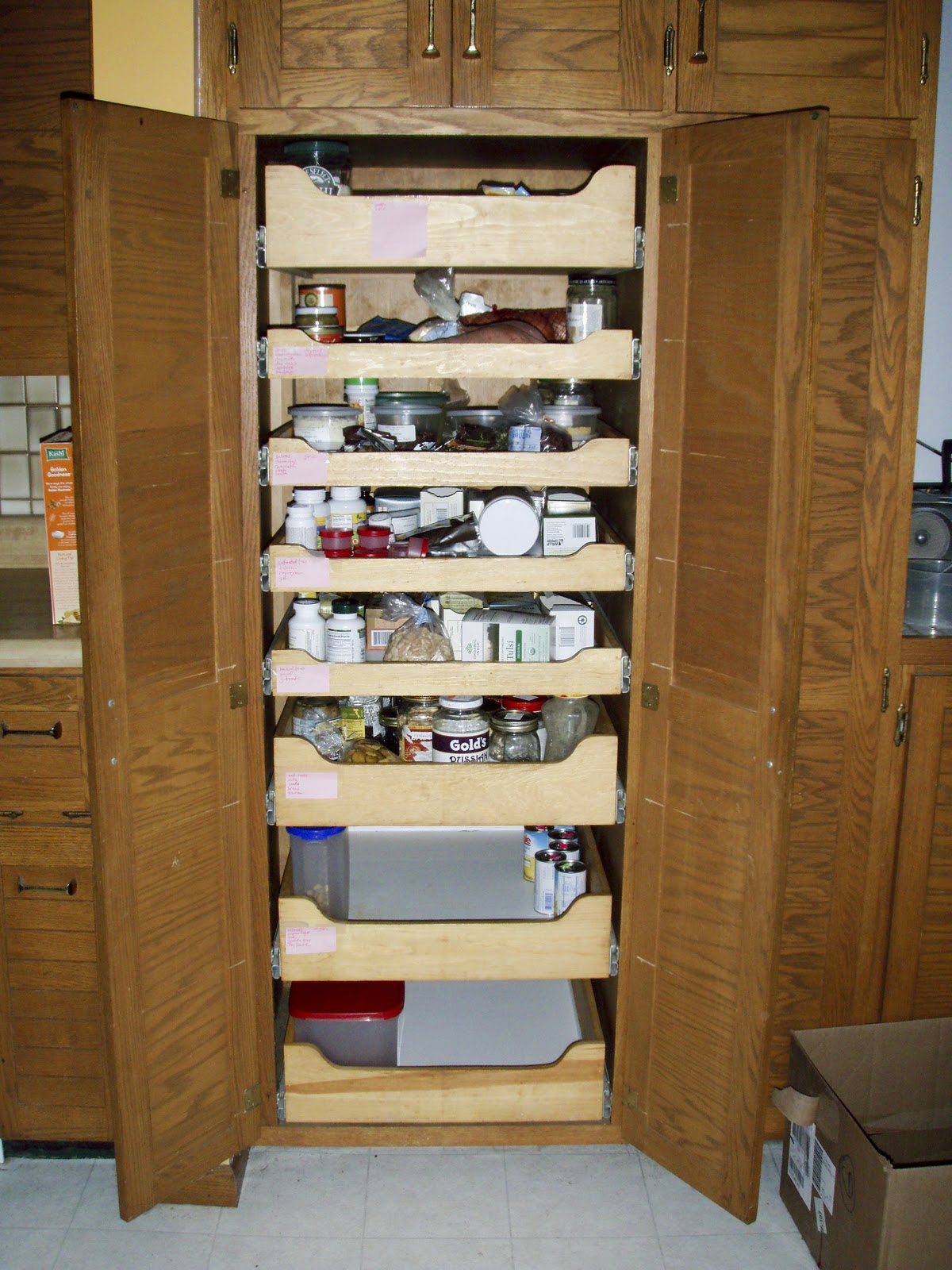 Cabinet Pull Out Shelves Kitchen Pantry Storage Pull Out Shelves Slide Out Shelves Slide Out Shelves Llc