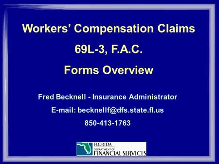Maine Office Of Workers Compensation Maine Workers' Compensation Board Ppt Download