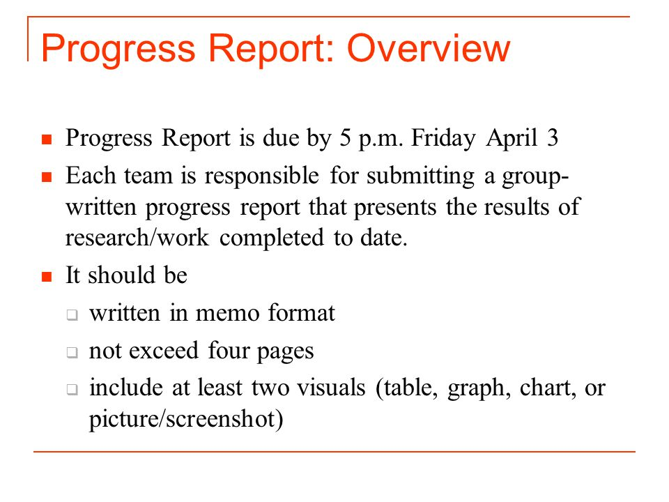 report in memo format - Minimfagency