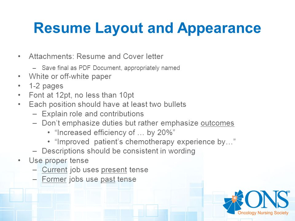 Writing Resume In Past Or Present Tense     Dos Donts For Your     SlideShare Objective for fundraiser resume