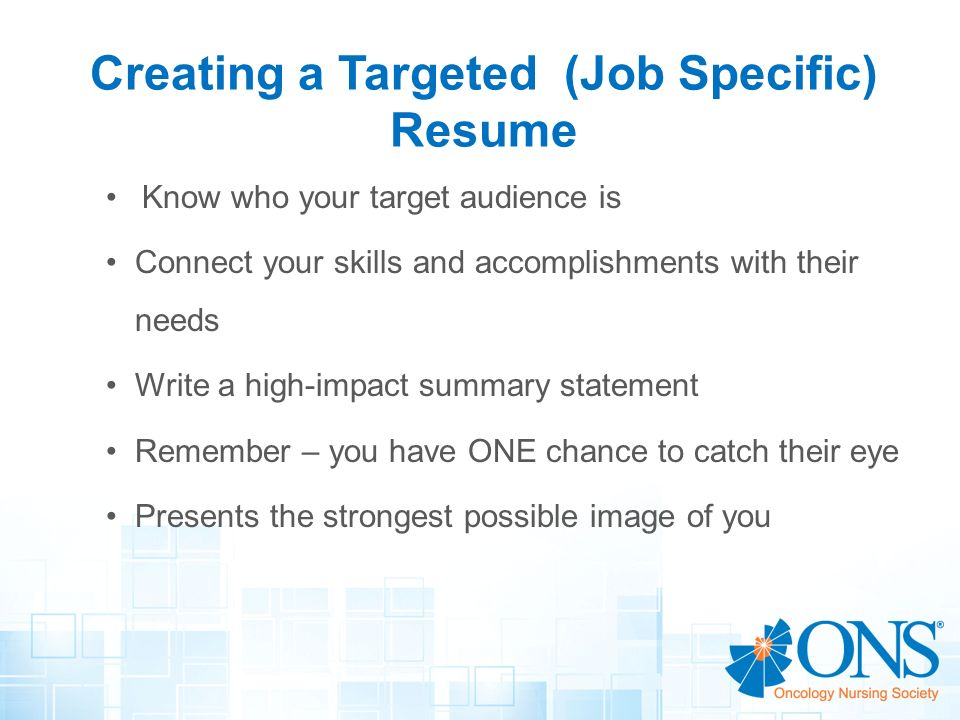 targeted resume guide to creating a better targeted resume for