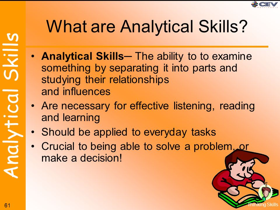 analytical skill definition - Selol-ink