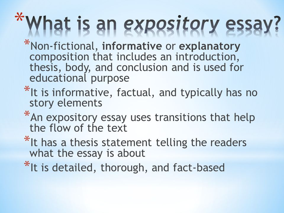 writing expository essay essay paper writing thesis for compare and