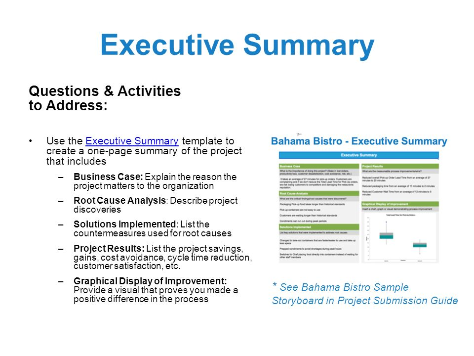 One Page Business Summary Template Choice Image - Business Cards Ideas - one page executive summary template