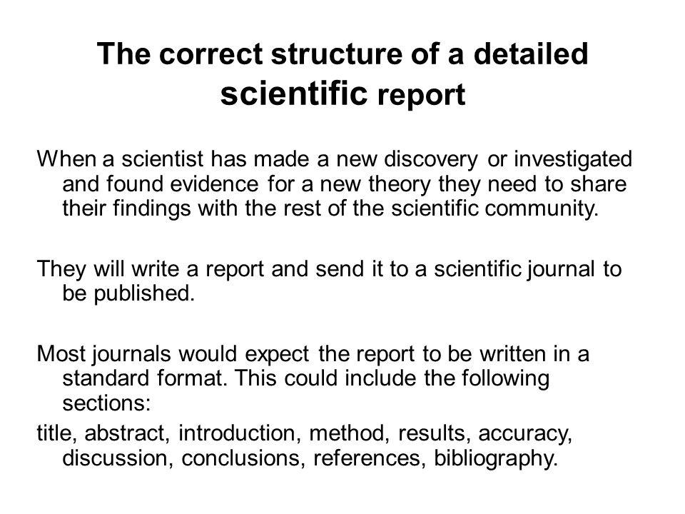 Communicating scientific information - ppt download