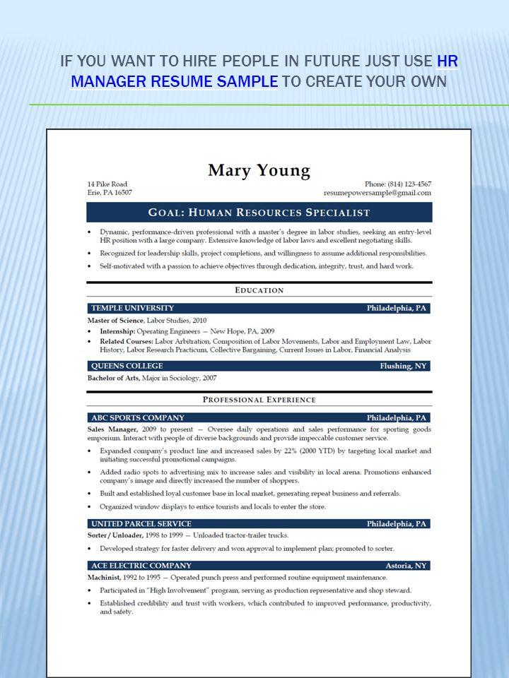 science resume sample