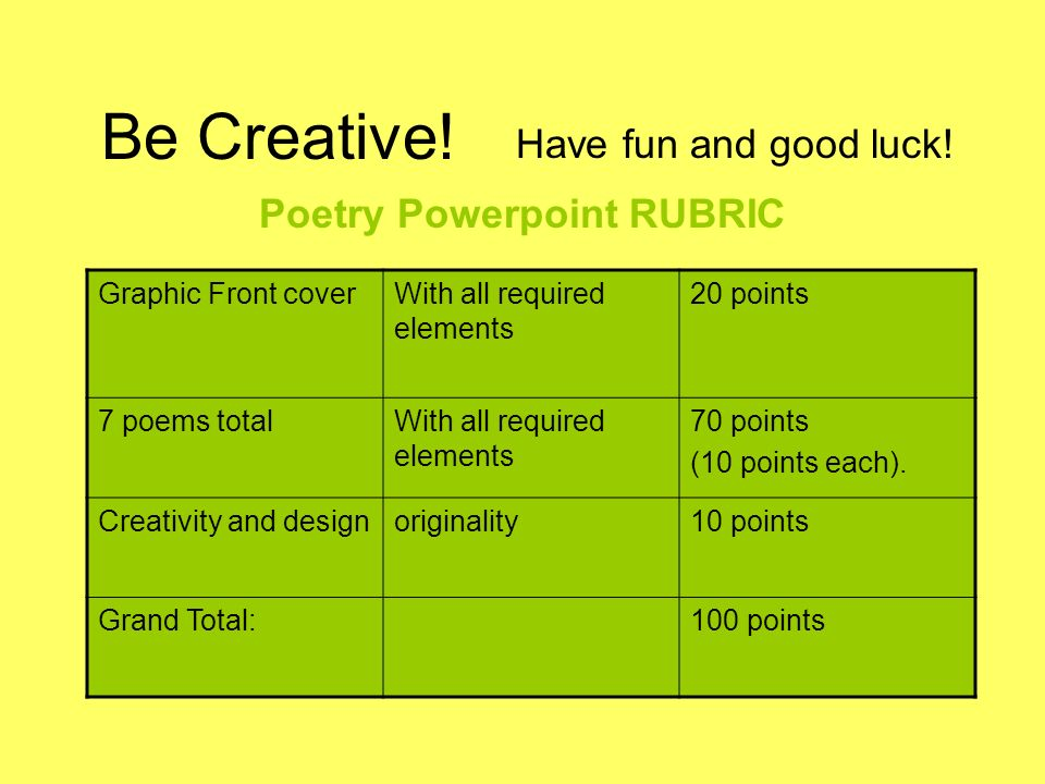 Free Worksheets Library Download and Print Worksheets Free on - poetry powerpoint