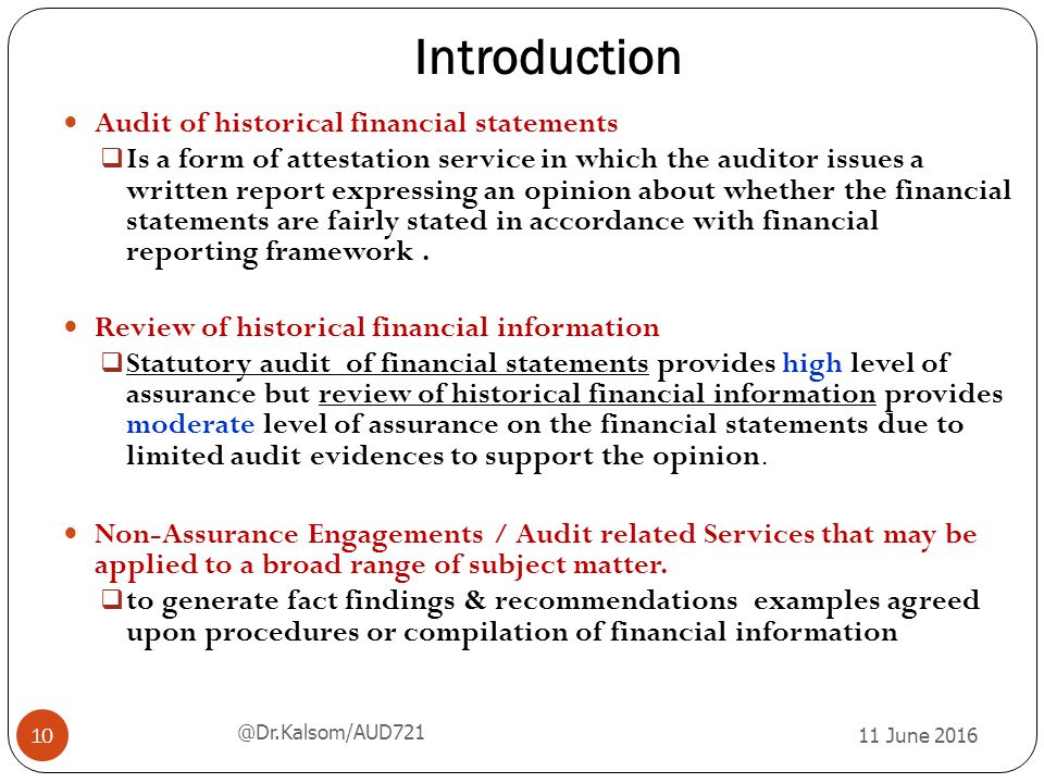 Chapter 5 AUDIT RELATED SERVICES - ppt video online download