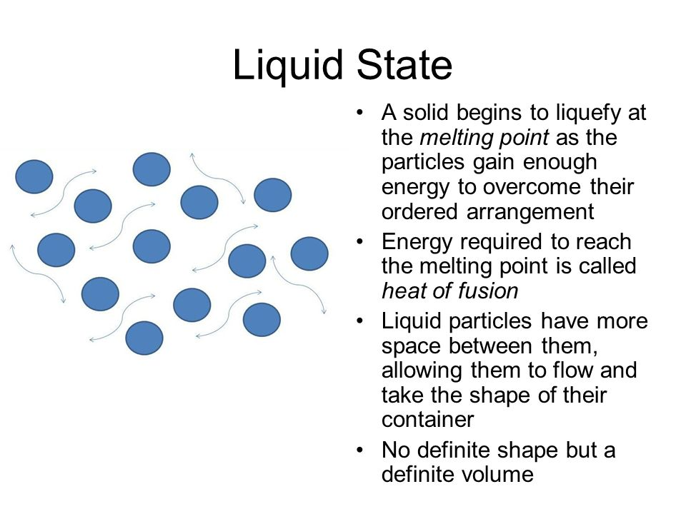 Kinetic Theory Simulation - ppt video online download - liquid particles