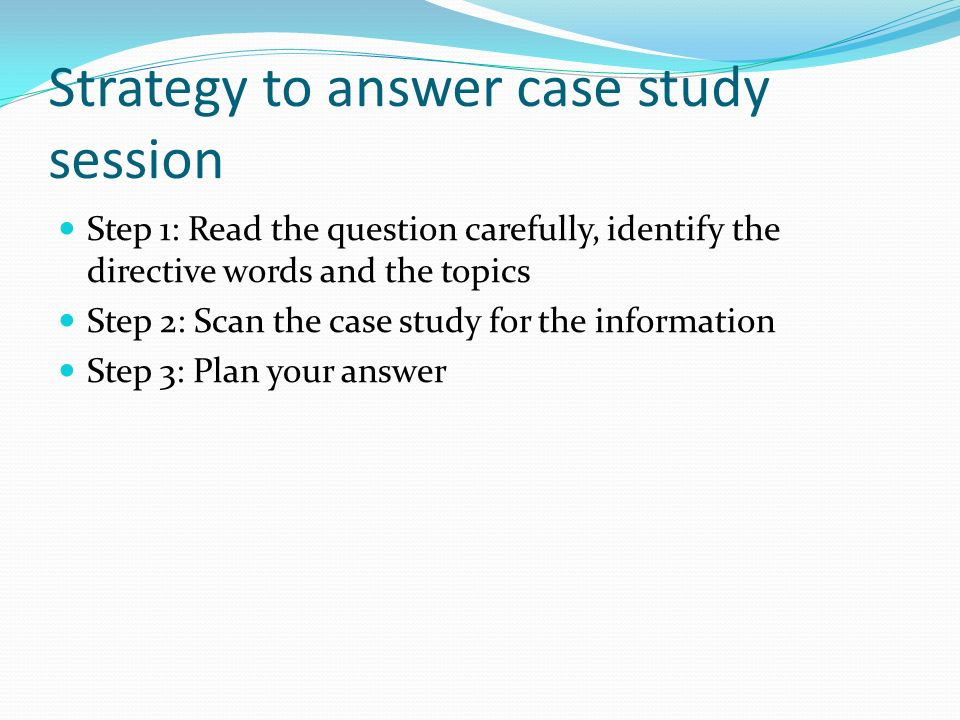 Strategy Case Study Interview