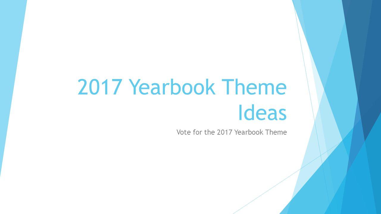 Fullsize Of Yearbook Theme Ideas