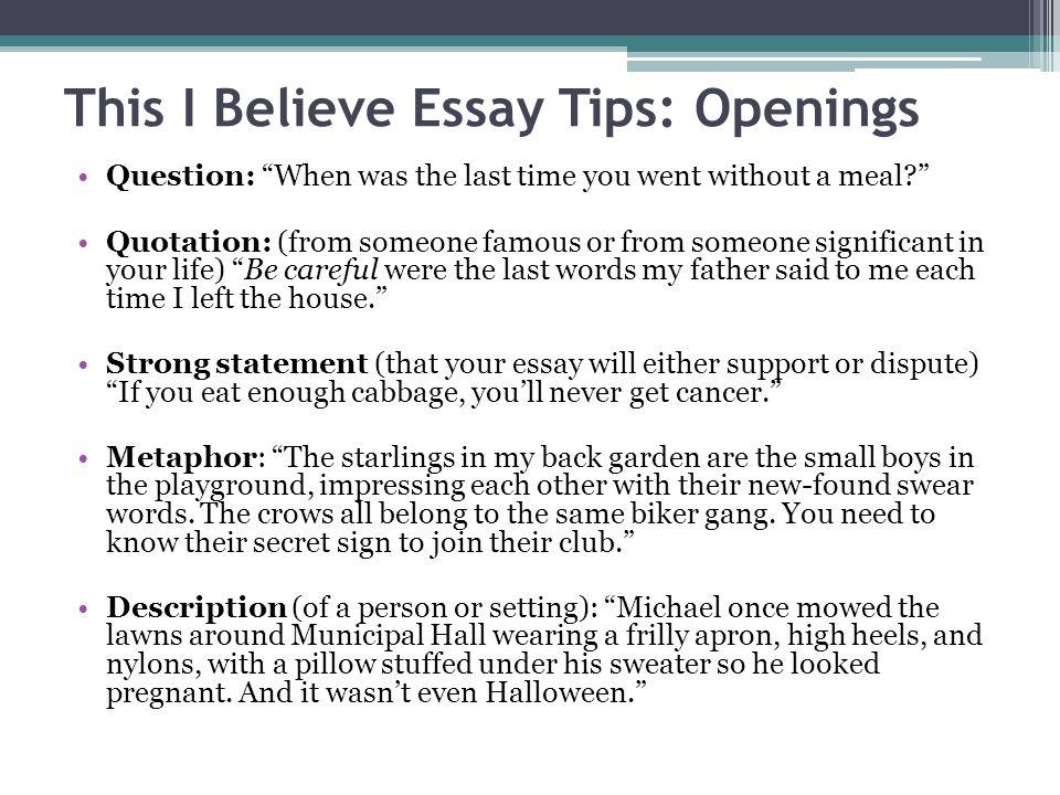 this i believe essays examples - Boatjeremyeaton - I Believe Essay Examples