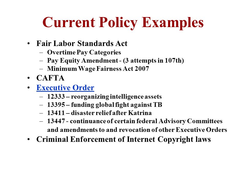 Chapter 13 Government and Public Policy - ppt download - public policy examples