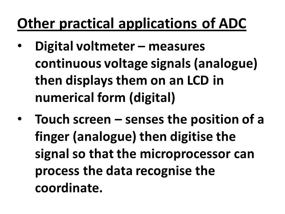 digital to analogue conversion using a summing amplifier