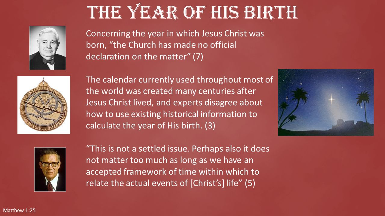 How Was The Calendar Created World Create Calendar For Any Year Time And Date Jesus—the Savior Is Born Ppt Download