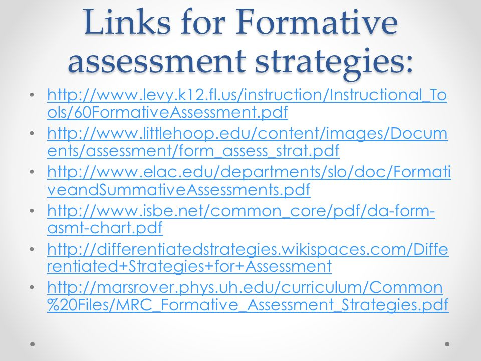 formative assessment strategies hitecauto - formative assessment strategies