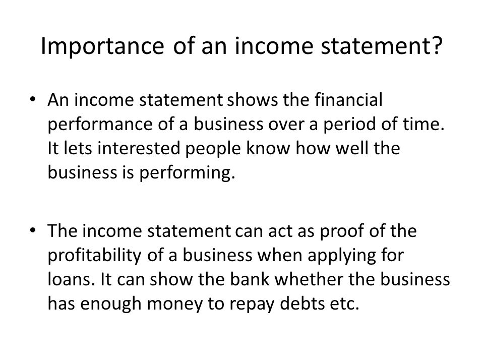 Income Statement  TemplatexampleUnicloudPl