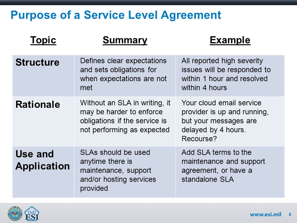 Service Level Agreement Considerations - ppt video online download - service level agreement