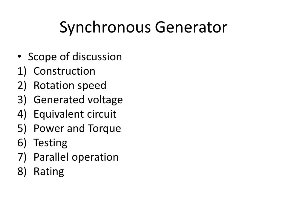 short circuit ratio of a synchronous machine its significance