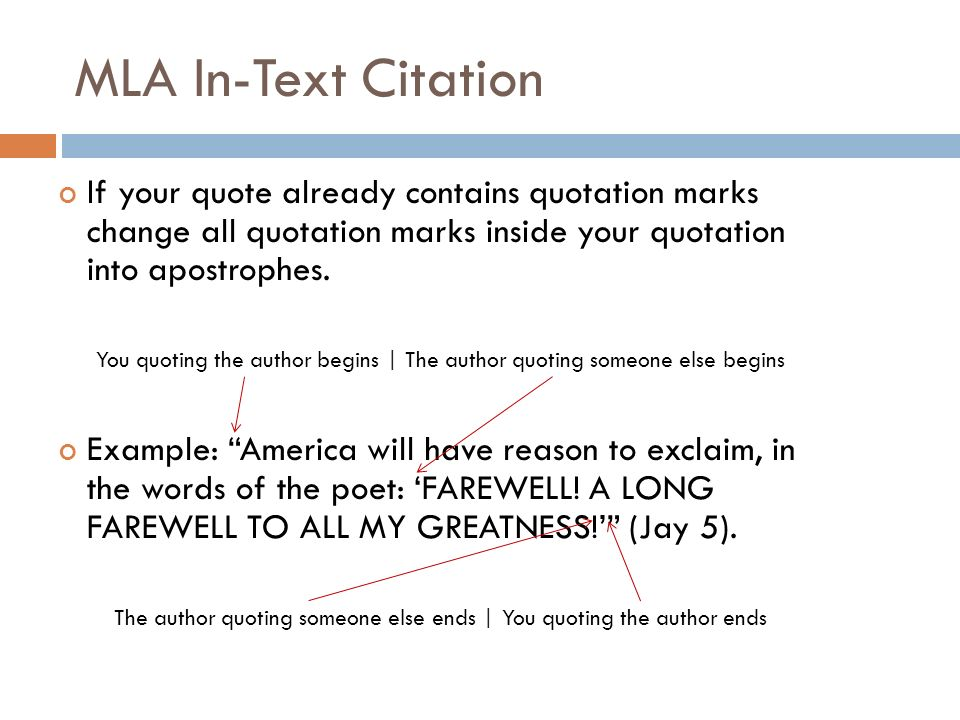 1 Quotes MLA FORMATTING and CITATION ppt video online download
