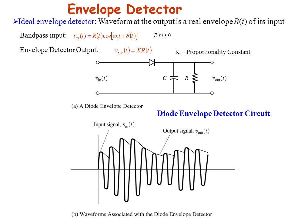 simple envelope demodulator circuit