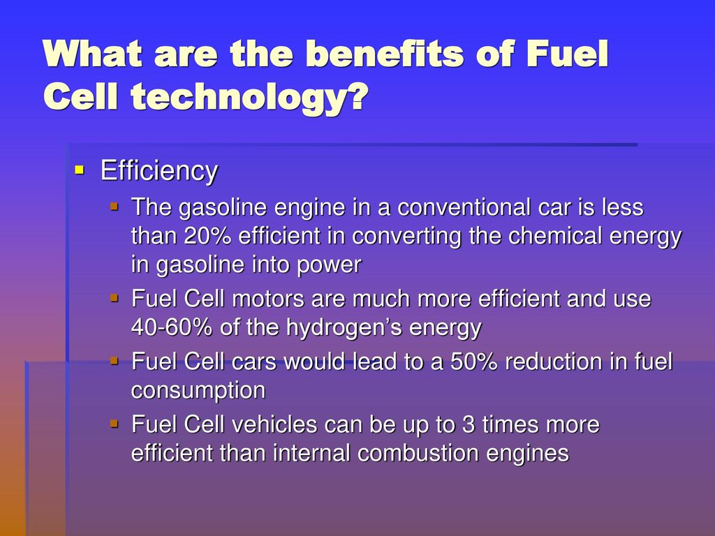 Hydrogen Fuel Cell Technology Ppt Download