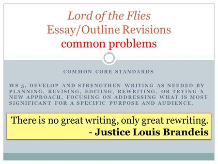 Lord of the Flies Symbolism Essay - ppt download