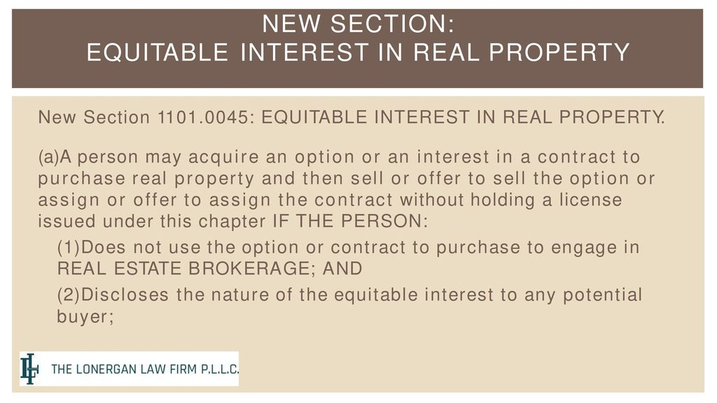 Ramifications for Wholesaling, Assignment of Contracts and Double