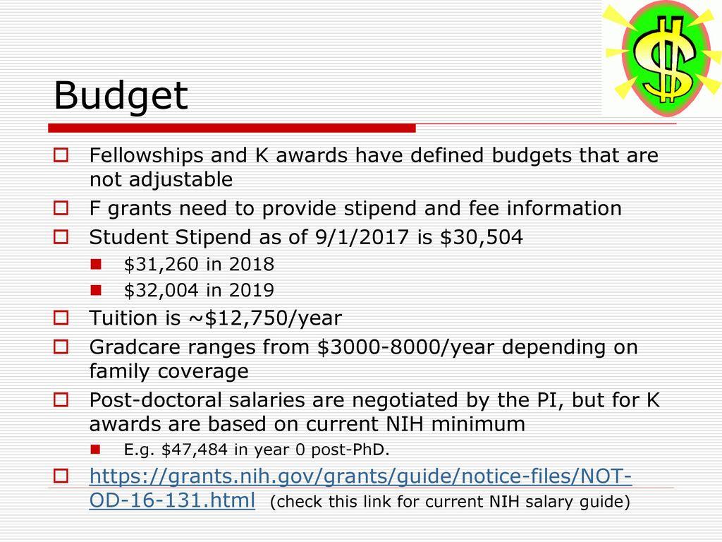 Enchanting Nih Modular Budget Template Ensign - Certificate Resume ...