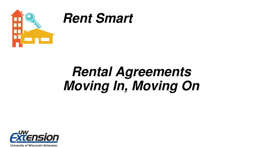 Rental Agreements Moving In, Moving On - ppt download - rental agreements